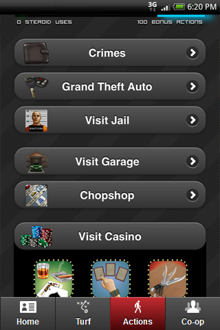 Screenshot of GP App 4