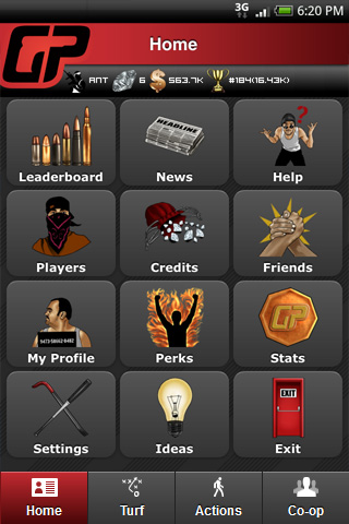 Screenshot of GP App 6